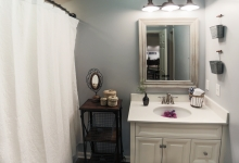 basement remodel bathroom