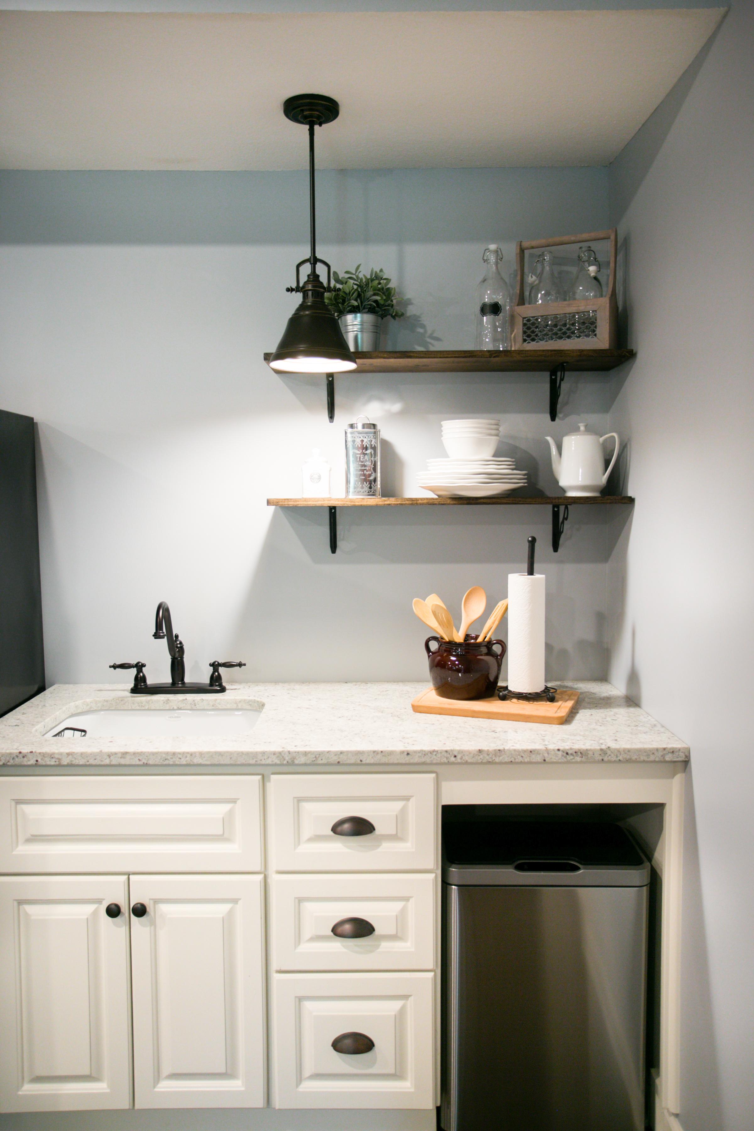 kitchenette-basement remodel