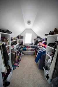 larger closet
